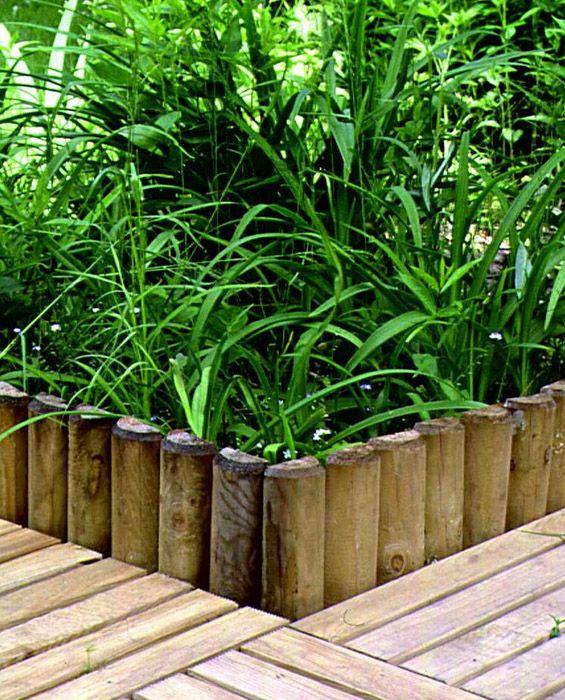 Rollborder ogrodowy