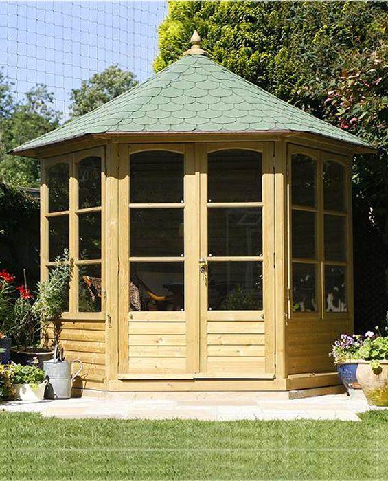 Harrogate Gartenlaube mit Dachschindeln