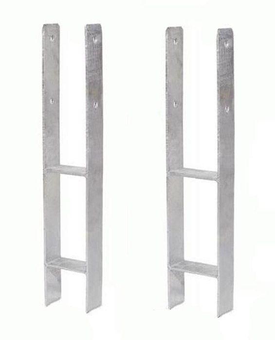 Die Basis zum Betonieren von Säulen - H-Anker