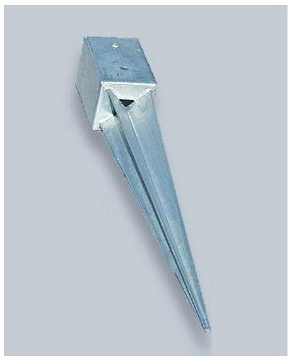 Szpic metalowy do słupków płotowych