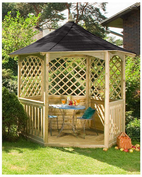 Winchester Gartenlaube mit Dachschindeln