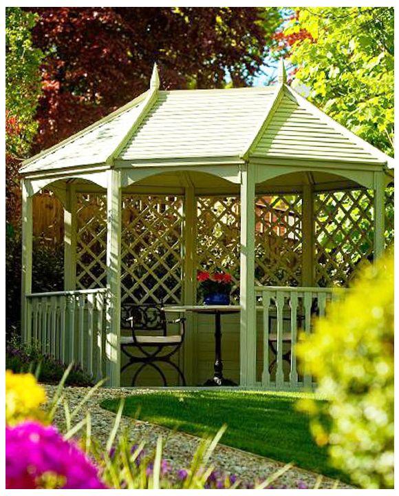 Breite Winchester Gartenlaube